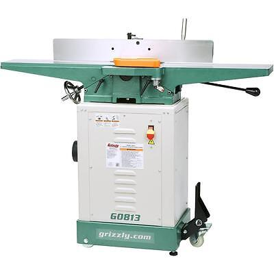 "G0813 Grizzly 6"" Jointer with Knock-Down Stand"