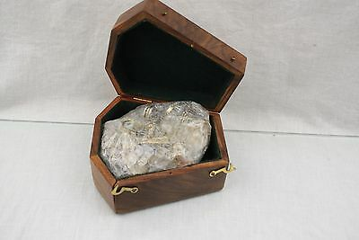 """4"""" Nautical Maritime Brass Sextant in Wooden Box 6F14"""