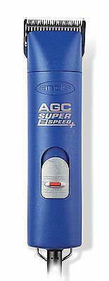 *NEW* Andis AGC Super 2-Speed Professional Animal Clipper Blue (22405)