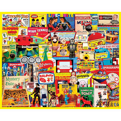 "Jigsaw Puzzle 1000 Pieces 24""X30"" I Had One Of Those WM1166"