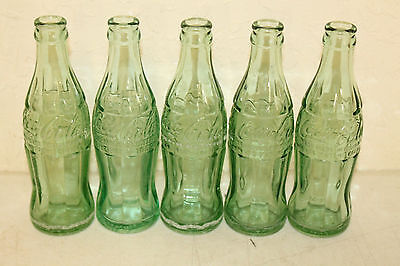 Lot of 5 Vintage Tennessee Coca Cola Soda Bottles Morristown Jellico Maryville 1