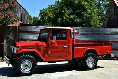 1978 Toyota Land Cruiser  Restored FJ45~Numbers Matching~Freeborn Red~A/C~Power Steering