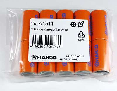 Hakko A1511 Pipe Filter 10 Pack for FM-2024