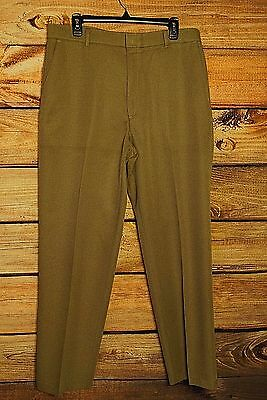 VTG Mens Levis Sta Prest Tan Beige Action Slacks Pants Slacks Trousers 36x32 EUC