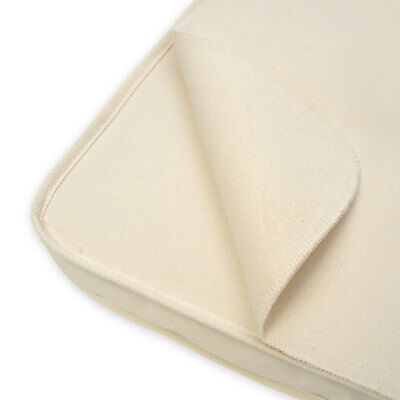 Naturepedic Organic Cotton Waterproof Portable Crib Mattress Cover Pad 24 x 38