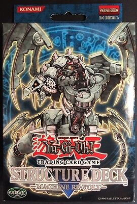 2007 YuGiOh MACHINE RE-VOLT 1st Edition Structure Deck SEALED! FREE SHIPPING!