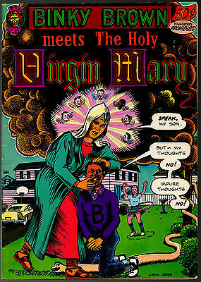 Binky Brown meets the Holy Virgin Mary 1972, Last Gasp, 2nd print,Justin Green