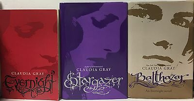 Evernight Series By Claudia Gray Book Lot