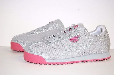 Puma Roma Glitz Glamm Mesh PS 364613-01 Preschool KIDS Shoes 0ef903d1f
