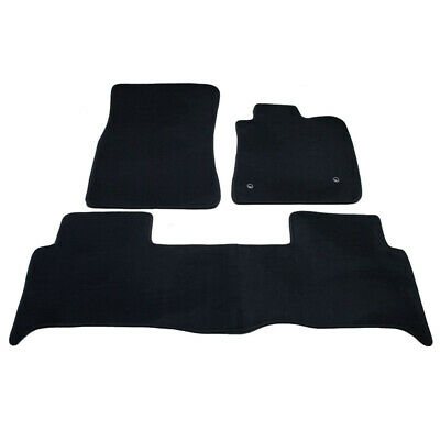Floor Mats Ford Ranger PX Dual Cab 2012-On Custom Front & Rear Charcoal Colour