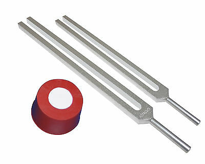 High OM Ohm 2 Tuning forks Kit for Relaxtion Meditation