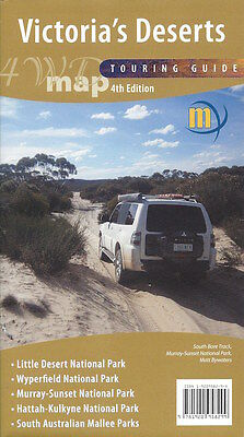 Meridian Victoria's Deserts 4WD Touring Map *FREE SHIPPING - NEW*