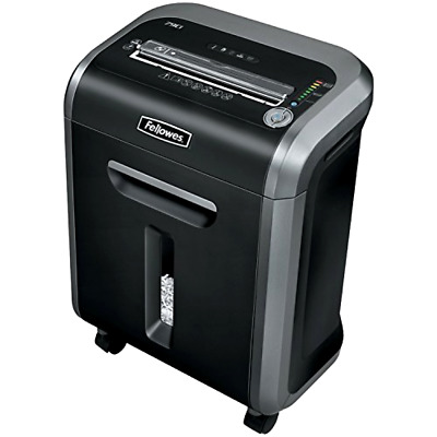 Heavy Duty Paper Shredder Fellowes Powershred 79Ci Jam Proof 16 Sheet Cross Cut