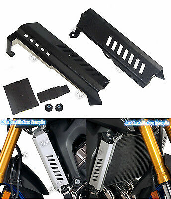 Radiator Side Cover Guard Panel Black Fit YAMAHA FZ-09 MT-09 Tracer FJ-09 XSR900
