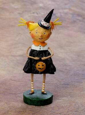 20693 Adorable Dora Lori Mitchell Figurine Halloween Trick or Treater Witch Fall