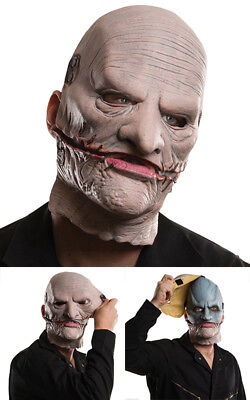 Licensed Corey Taylor Slipknot Face Mask Halloween Costume Accessory