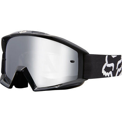 Fox Racing NEW Mx 2018 Main Race Black Kids Youth Motocross Dirt Bike Goggles