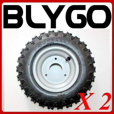 "2X 13 x 5.00 - 6"" inch Wheel Rim+ Tyre Tire 50cc 110cc Quad Dirt Bike ATV Buggy"