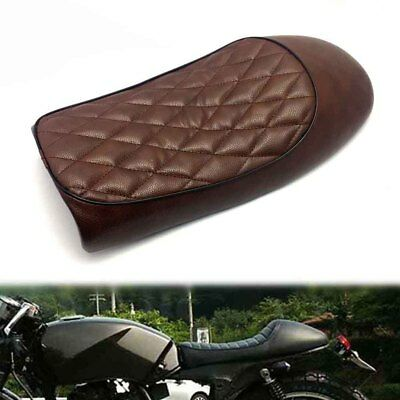 NEWBrown Cafe Racer Motorcycle Hump Seat Saddle For Suzuki GS Yamaha XJ Honda CB