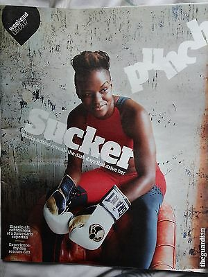 Nicola Adams - The Guardian Weekend magazine May2017