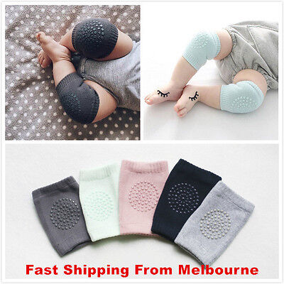 Baby Knee Pad Newborn Kid Safety Soft Breathable Crawling Elbow Cotton Protect