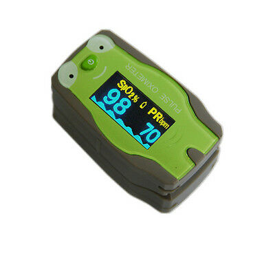 Healthy Kids Pediatric Fingertip Pulse Oximeter Health Monitor SpO2 Checker