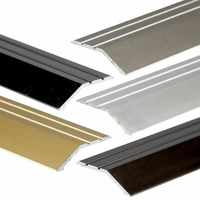 900mm x 40mm ANODISED ALUMINIUM DOOR FLOOR BAR EDGE TRIM THRESHOLD RAMP A11