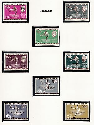 Parguay   1964  18Th Olympic Games   Mnh