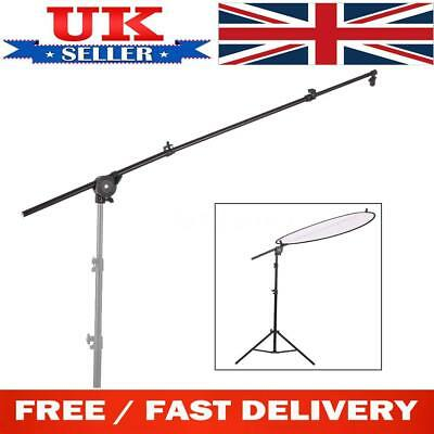 Photo Studio Photography Reflector Diffuser Holder Stand Boom Arm Clip Grip A5O5