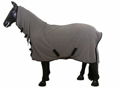 Best On Horse Cooler Fleece Rug Pony Cob Ful Stable Show Travel Warm Cover Sheet