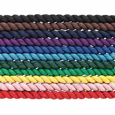 Cottage Craft Equine Quality Twisted Horse Competition & Travel Cotton Lead Rope