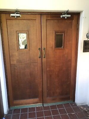 Decorative Antique Old School Church Doors