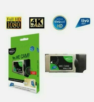 CAM  HD 4K  TIVUSAT GOLD DIGIQUEST  TESSERA NON INCLUSA TIVùSAT SD HD