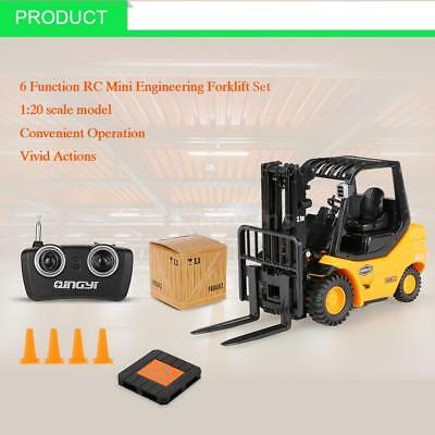 RUICHUANG 1/20 6 Function RC Engineering Forklift Truck Radio Control Car J0M1