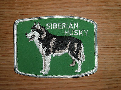 VINTAGE Siberian Husky Patch - Dog