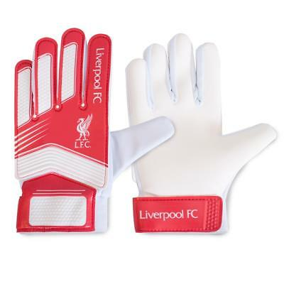 Official Licensed Football Liverpool F.c. Goalkeeper Gloves Yths