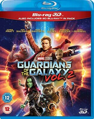 Guardians of the Galaxy: Vol. 2 (3D Edition with 2D Edition) [Blu-ray]