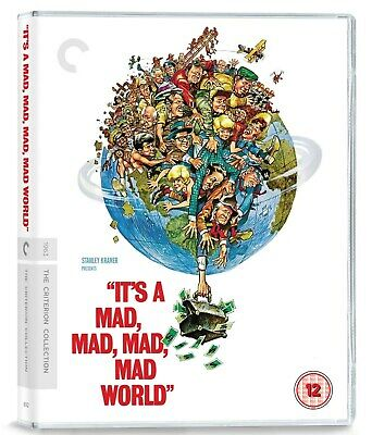 It's A Mad Mad Mad World  (Criterion Collection) [Blu-Ray]