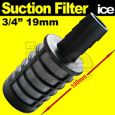 """FISH TANK AQUARIUM POND WATER PUMP INLET SUCTION FILTER FOR 1//2"""" 3//4/"""" HOSE PIPE"""