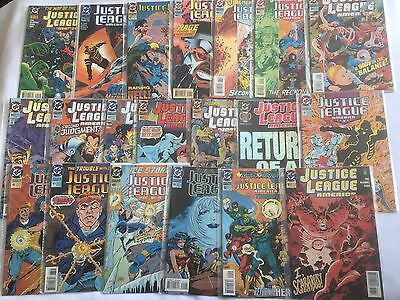 Justice League America 1993-1995 20 Comics In Total