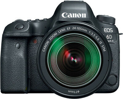 Canon EOS 6D Mark II Camera with EF 24-105mm IS STM Lens - WiFi Enabled