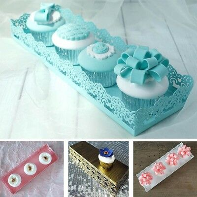 Wedding Banquet Cake Stand Party Dessert Muffin Cupcake Tray Plate Display Decor
