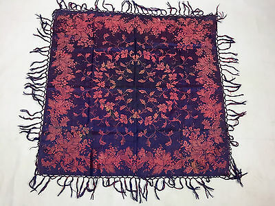 "Antiguo mantón de gro. Antique shawl ""gro"""