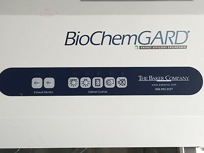 BioChemGuard, Baker Class II Type B2 Biological Safety Cabinet for your compound