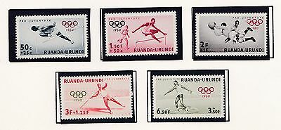 Belgian  East Africa      1960  17Th   Olympic Games    Mnh