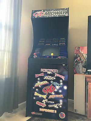 Midway 12 In 1 Arcade System: Good Condition! Works Great! Classic Series 1