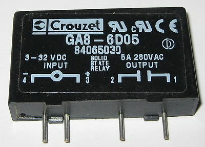 CROUZET SOLID State Relay 280 V 5 A GA86DO5 Inline Package
