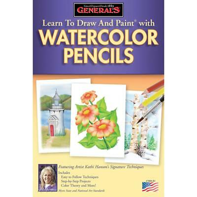 Learn To Draw And Paint With Watercolor Pencils  70WCB
