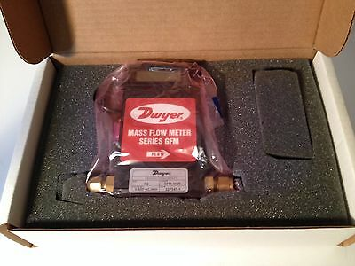 FREE SHIPPING- DWYER GFM-1106 MASS FLOW METER. NIB W Manual and Cal. CERT.