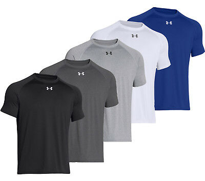 Men's Under Armour Team Locker Tee Short Sleeve Relaxed Fit 1268471 New